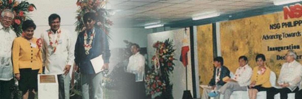 PLANT INAUGURATION OF NSG PHILIPPINES, INC.