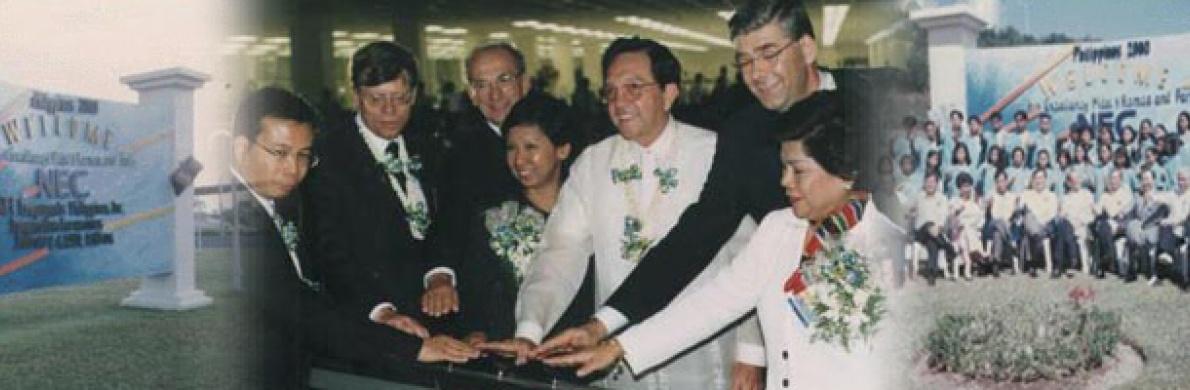 PLANT INAUGURATION OF NEC PHILIPPINES, INC.